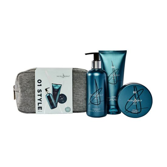Neal & Wolf Men's 01 STYLE Christmas Trio Gift Bag 2021