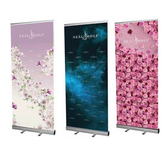 Neal & Wolf Pull up Banner