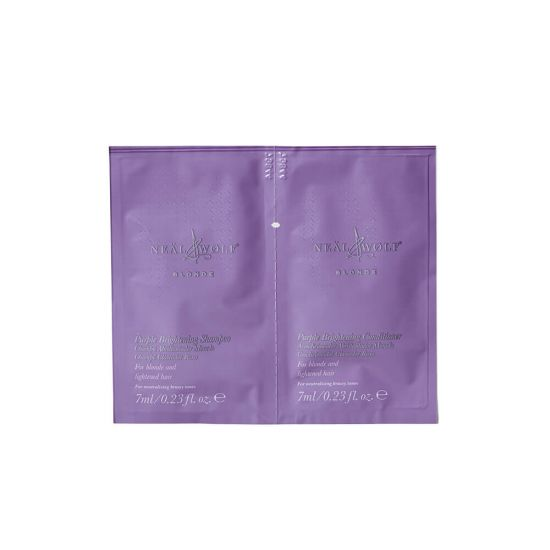 Neal & Wolf BLONDE Shampoo & Conditioner Duo Sachet (7ml)