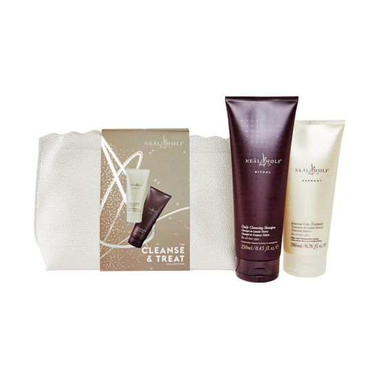 Neal & Wolf CLEANSE & TREAT Christmas Duo Gift Bag 2021