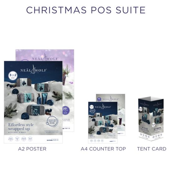 Neal & wolf Men's Christmas POS Suite