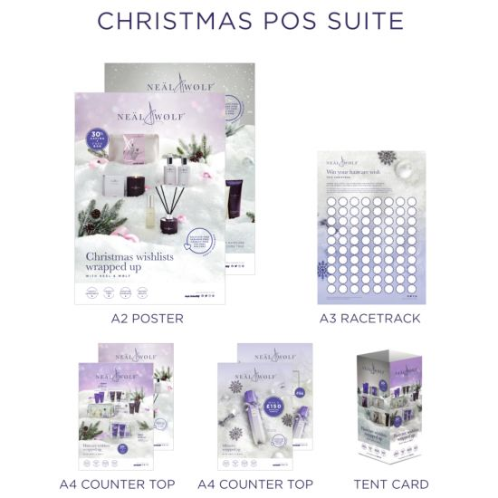 Neal & Wolf Christmas 2021 POS Suite